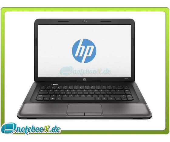 HP 650 - Intel Dual Core 1,7GHz - 2GB RAM - 500GB - 39,6cm 15.6 - DVD-RW - Linux
