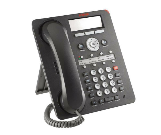 Avaya one-X Deskphone - 1608 - VoIP phone - Office - Black