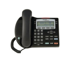 Nortel IP Phone 2002 - VoIP phone - NTDU91 - Black - Used