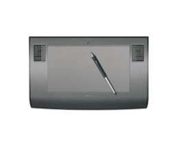 Wacom Intuos - A4 Regular USB tablet - PTZ 930 - Graphics Tablet - Including airbrush (ZP-400E) - Used