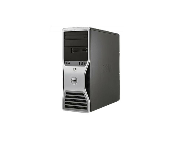 Dell Precision T5400 Tower - Xeon E5430 / 2,66GHz - 4GB Ram - 80GB HDD - DVD