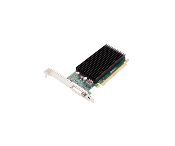 NVIDIA Quadro NVS300 - Low Profile - Grafikkarte - PCI Express - 512 MB DDR III - Gebraucht