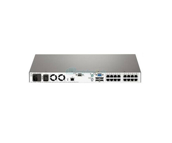 HP IP Console Switch - Virtual Media 2x1x16 - KVM-Switch - CAT5 - Gebraucht