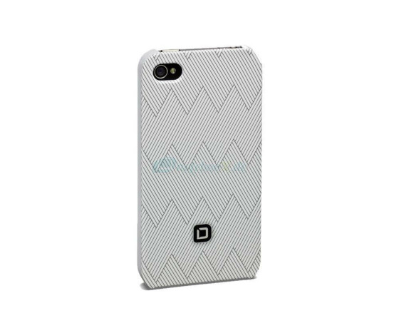 Dicota D30441 Hard Cover - iPhone4 / iPhone4S- Hartschale weiß - Hard Cover white