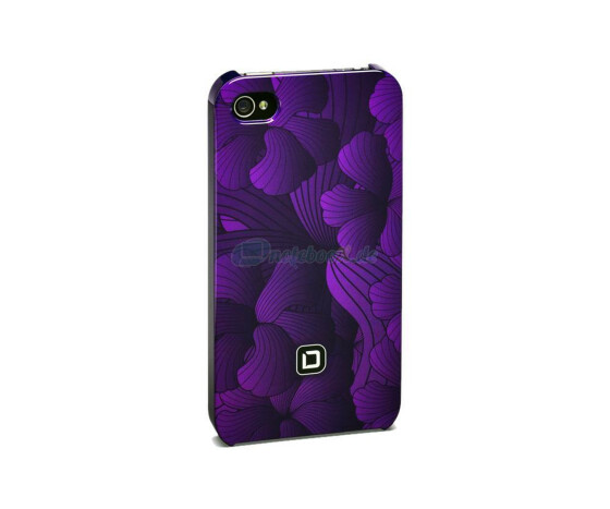 Dicota D30443 Hard Cover - iPhone4 / iPhone4S- Hartschale lila - Hard Cover Purple