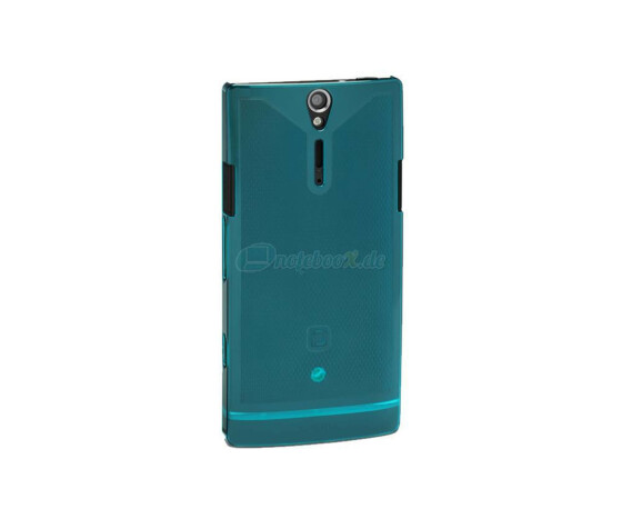 Dicota D30493 Slim Cover - Sony Xperia S - Hartschale blau - Hard Cover Blue