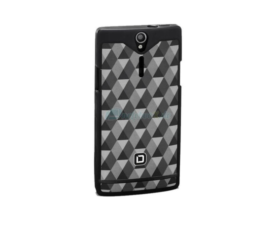 Dicota D30499 Frame Case - Sony Xperia S - Hartschale schwarz - Hard Cover Black