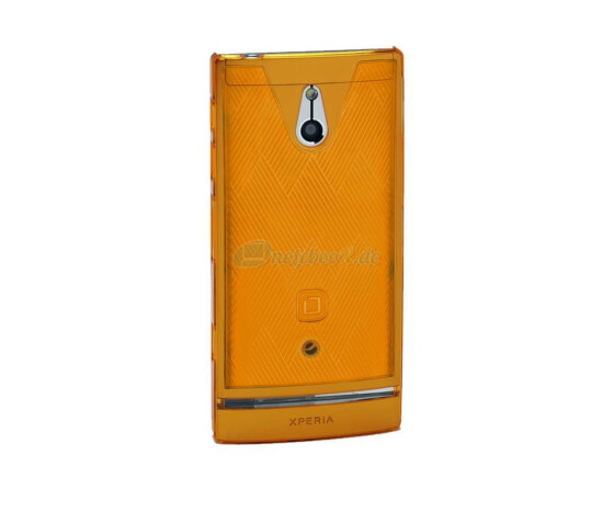 Dicota D30520 Slim Cover - Sony Xperia P - Hartschale orange - Hard Cover Orange
