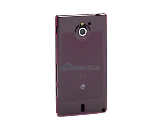 Dicota D30534 Slim Cover - Sony Xperia Sola - Hartschale pink - Hard Cover Pink