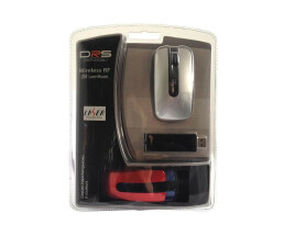 Dicota DRS Wireless RF Laser Mouse - Maus - Wireless -...