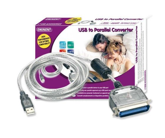 Eminent - USB to Parallel Converter - USB 1.1 -...
