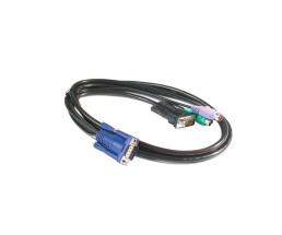 APC keyboard / video / mouse cable - KVM PS / 2 Cable -...