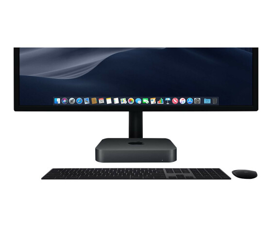Apple Mac mini - DTS - 1 x Core i7 3.2 GHz - RAM 32 GB - SSD 1 TB - UHD Graphics 630 - GigE, Bluetooth 5.0 - WLAN: 802.11a/b/g/n/ac, Bluetooth 5.0 - Apple macOS Mojave 10.14 - Monitor: keiner - CTO