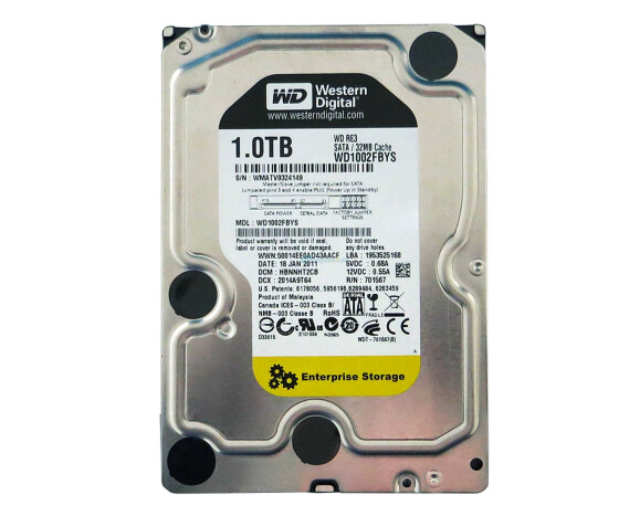 Western Digital RE3 - WD1002FBYS - Festplatte - 1 TB - intern - 3.5 - Serial ATA-300