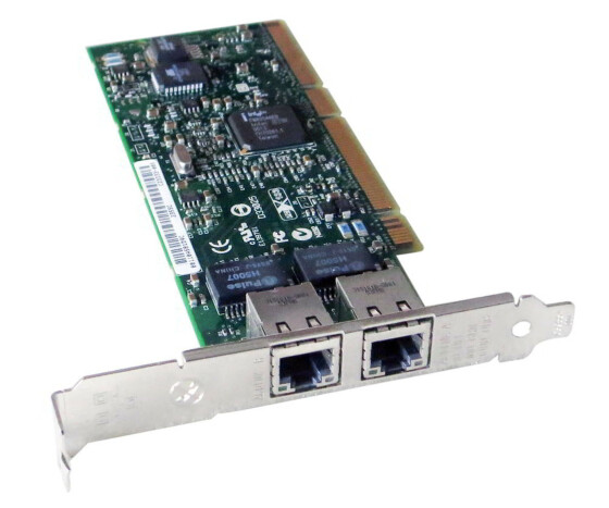HP NC7170 PCI-X Dual Port Gigabit Server Adapter -...