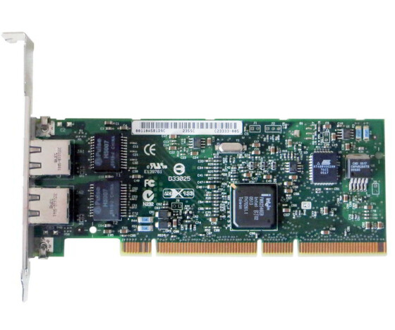 HP NC7170 PCI-X Dual Port Gigabit Server Adapter - Netzwerkkarte - 313559-001