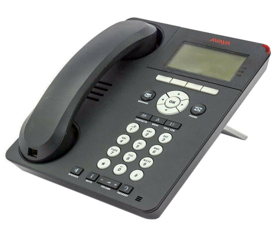 Avaya one-X Deskphone Edition 9620L IP Telephone - VoIP-Telefon - H.323, SIP - Charcoal Grey