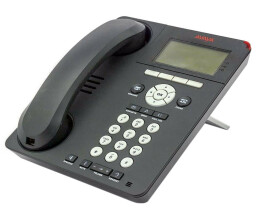 Avaya 9620L IP Telephone - VoIP phone - one-X Deskphone Edition - H.323, SIP - charcoal gray