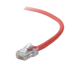 Belkin CAT 5 PATCH CABLE - 5 m - Red