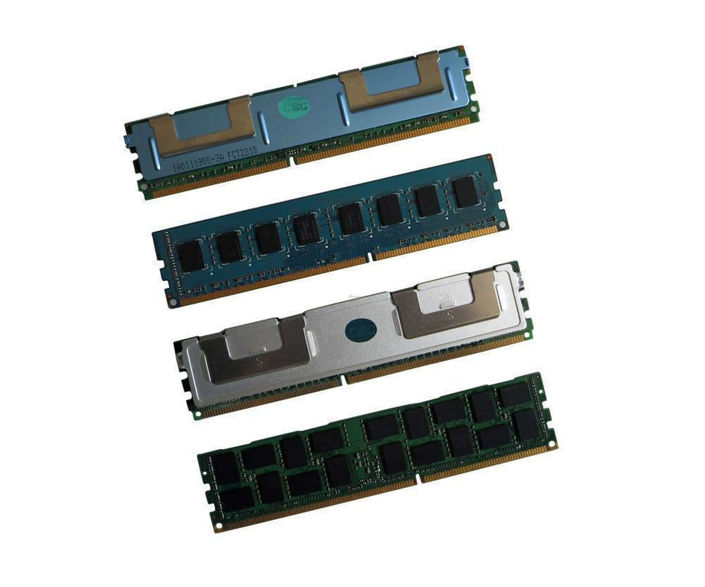 Infineon Qimonda - HYS72T128000HR-5-B Memory - 1 GB - 240-PIN - PC-3200 - DDR2 SDRAM
