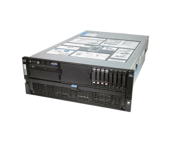 HP ProLiant DL580 G5 - Rack - 2x Intel Xeon X7350 2.93 GHz - RAM 64 GB - DVD
