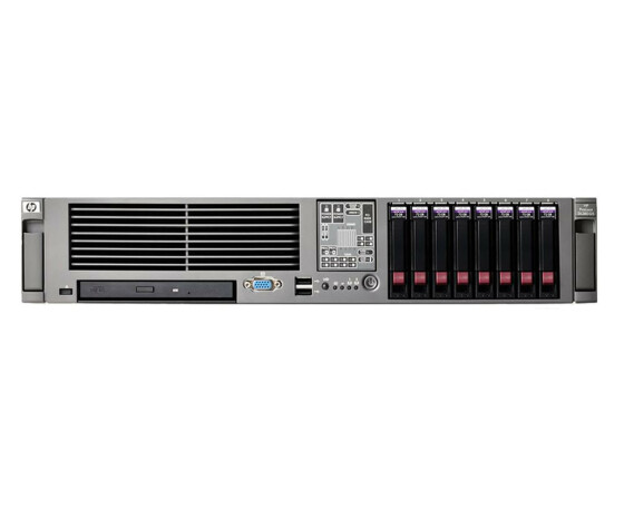 HP ProLiant DL380 G5 - RAM 4 GB - rack - 2x Intel Xeon X5355 2.66 GHz - DVD