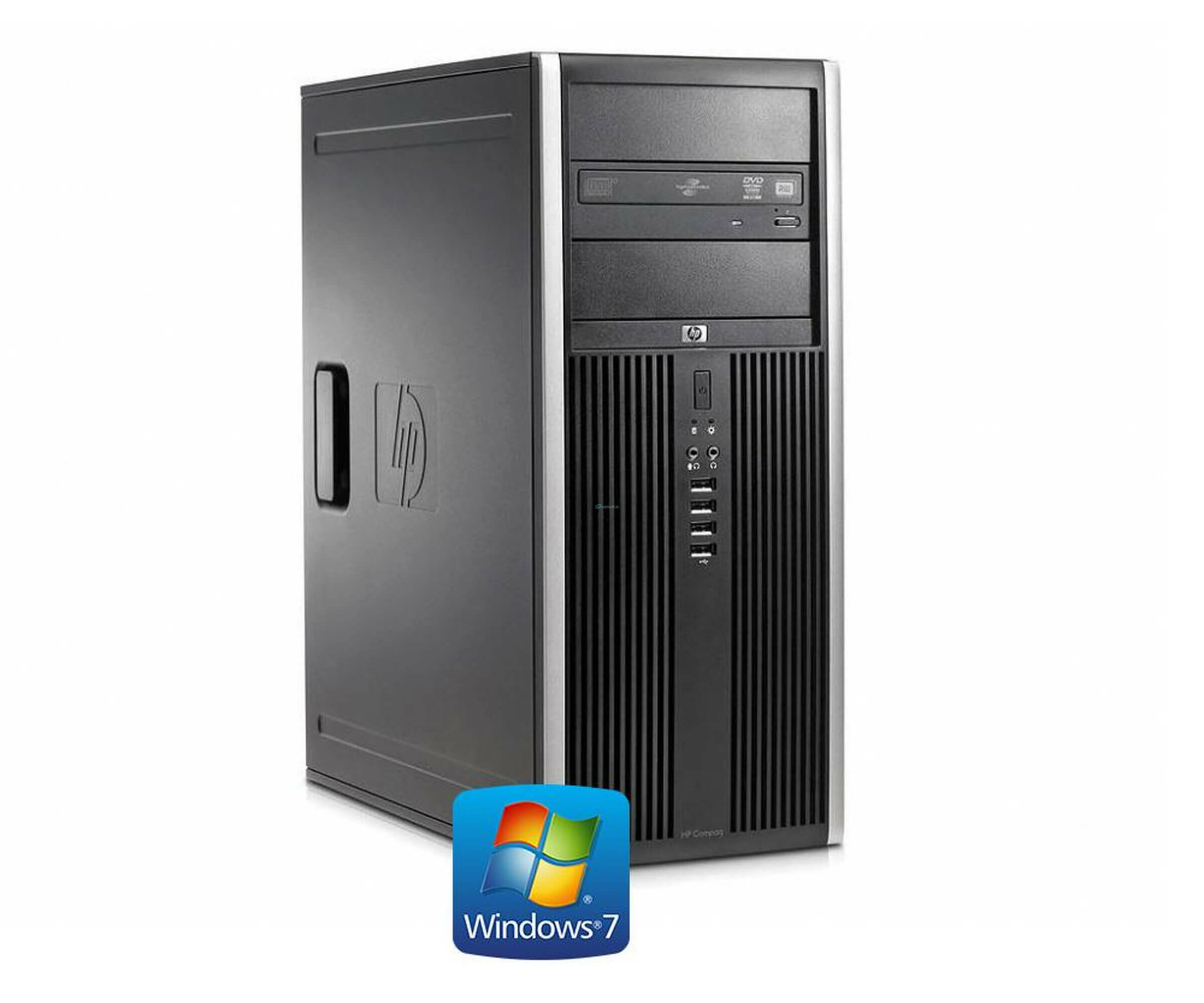 HP Compaq Elite 8100 CMT - Intel Core  i3-530 2,93 GHz - RAM 2 GB - 160 GB HDD - DVD-RW - Windows 7