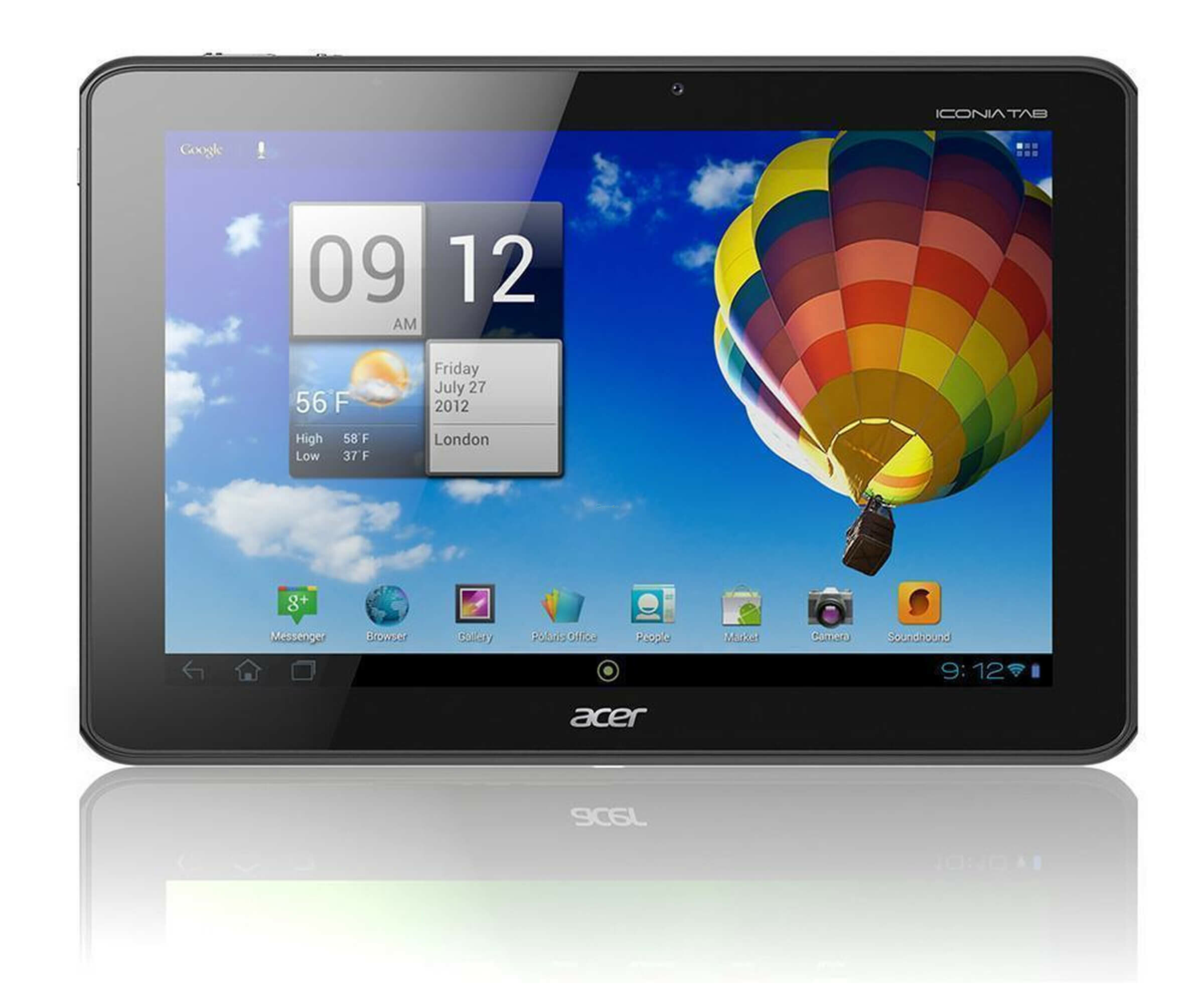 Acer ICONIA Tab A510 - Tablet - Android 4.1.2 - 32 GB - 25.7 cm (10.1)