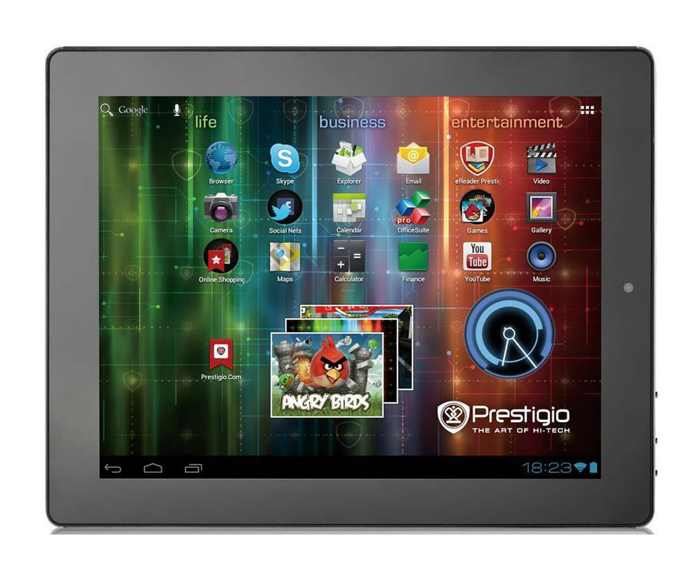 Tablets, Tablet PCs - Prestigio MultiPad PMP5097C PRO Tablet Android 4 8 GB 24.6 cm 9.7' S IPS 1024 x 768  - Onlineshop Noteboox.de