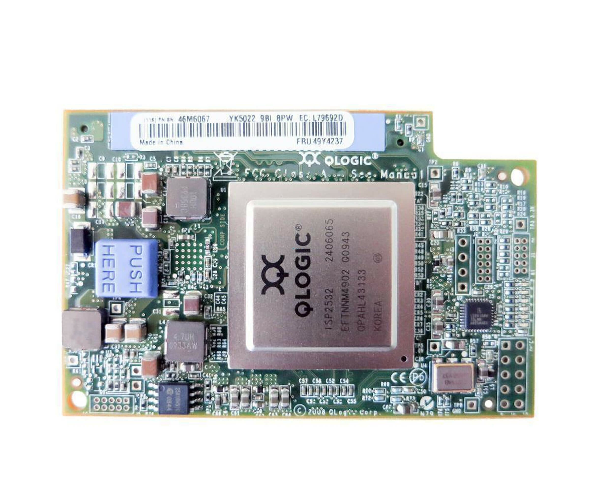 IBM QLogic 49Y4237 - 4 Gb Fibre Channel Expansion Card - für IBM Blade Center