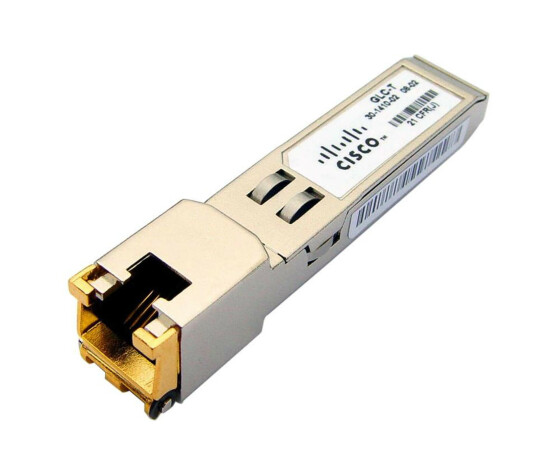 Cisco Genuine GLC-T Transceiver Module - 30-1410-02 - 1000BASE-T - RJ45 SFP GBIC