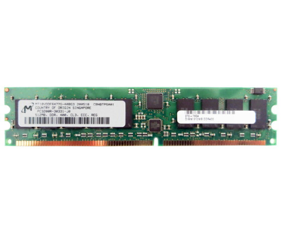 Sun X9295A Memory Kit - 1 GB (2x 512 MB) - PC-3200 - DIMM...