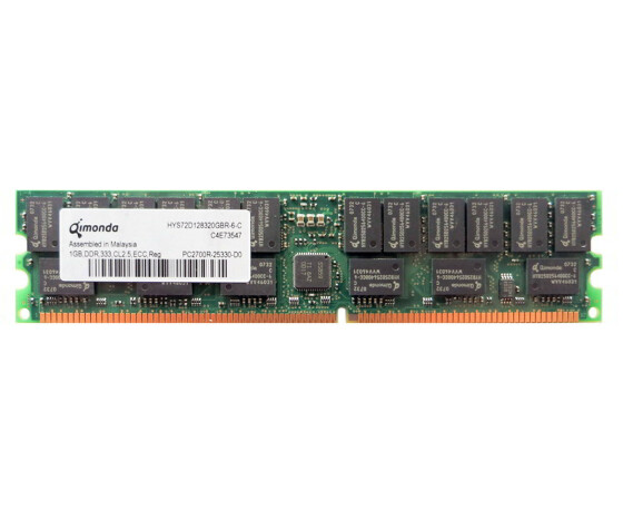 Sun X7704A-4 Memory Kit - 2 GB (2x 1 GB) - PC-2700 - DIMM...