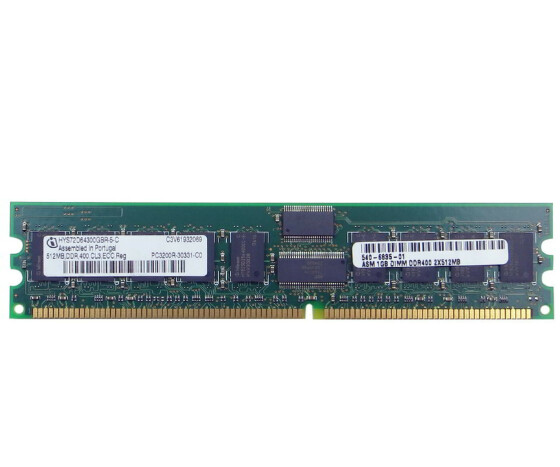 Sun 540-6835 Memory Kit - 1 GB (2x 512 MB) - PC-3200 -...