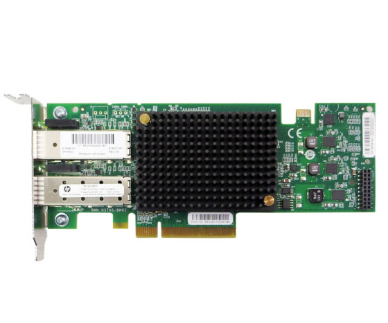 HP NC552SFP - Dual Port Ethernet Server Adapter- 10Gbps Gbe PCI-E - 614203-B21 - Netzwerkkarte