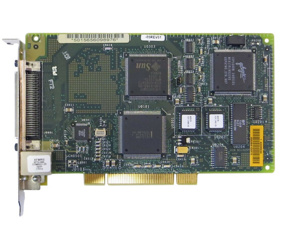 Sun X1032A - PCI Ultra Wide SCSI / Fast Ethernet Adapter - 501-5656 - Netzwerkkarte
