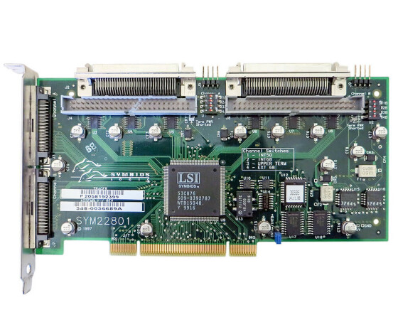 Sun X6540A - PCI Dual Single-Ended Ultra/Wide SCSI Adapter - 375-0005