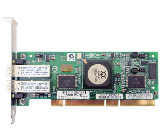 HP FCA2214 - Storage Works DC 2Gb PCI-X Fibre Channel Host Bus Adapter - 321835-B21