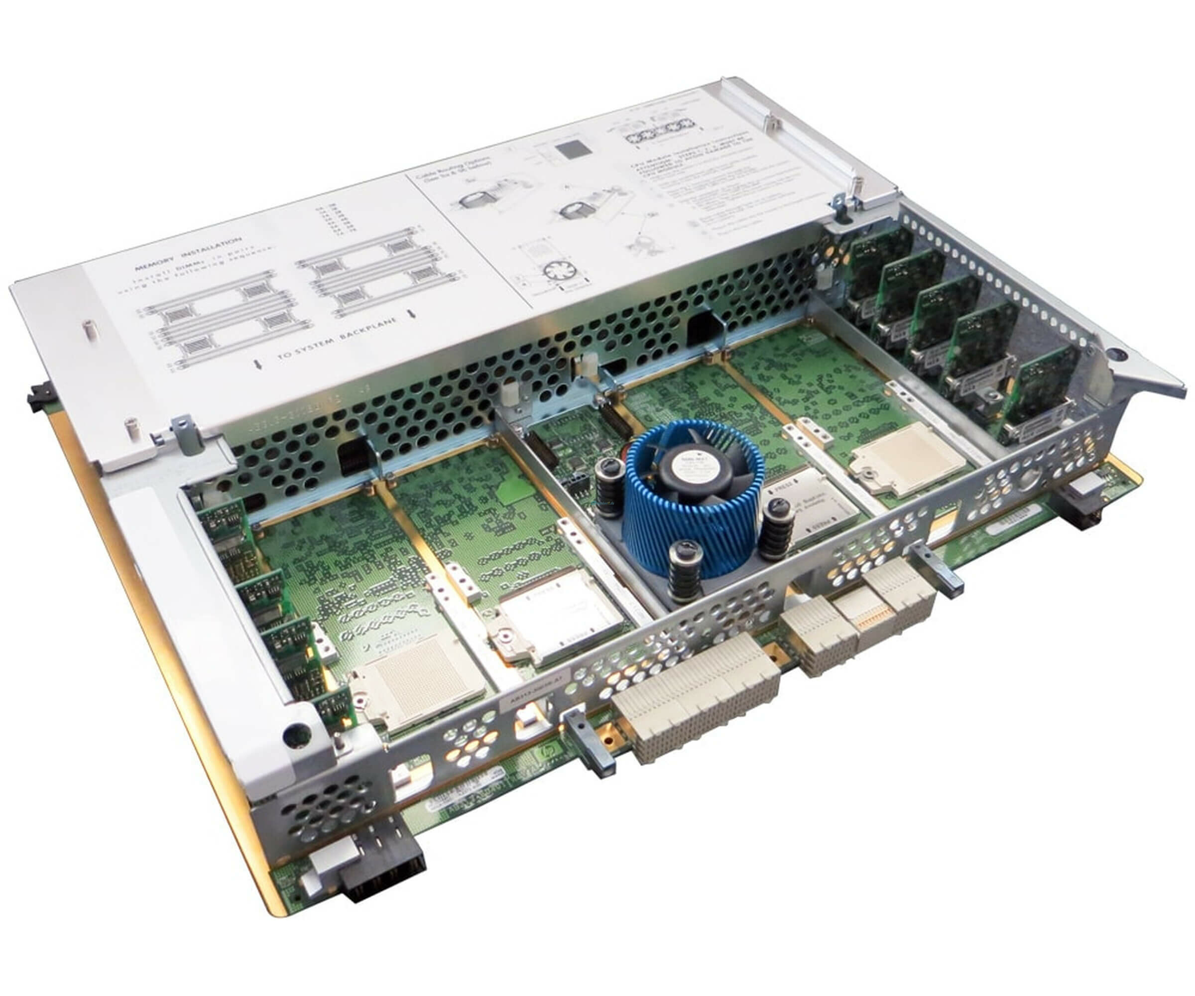 Mainboards - HP Integrity RX7640 RX8640 Motherboard AB313 0008A inklusive HP 3AC1 0005 CPU  - Onlineshop Noteboox.de
