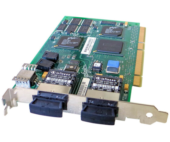 Sun X6727A - 1 Gigabit/s PCI Dual Fibre Channel Host Adapter - 375-3030