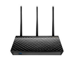 ASUS RT-AC66U B1 - Wireless Router - 4-Port-Switch