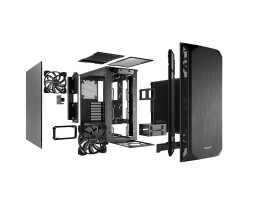 Be Quiet! Pure Base 500 Black - Tower - PC - ABS...