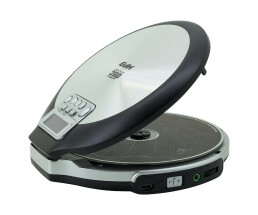 Soundmaster CD9220 - Personal CD player - Black,Stainless...