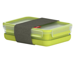 EMSA 518098 - Lunch container - Adult - Green,Transparent...