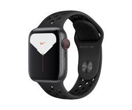 Apple Watch 5 40mm SG Alu Case w/Antraciet/Black Nike LTE