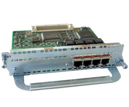 Cisco NM-4B-S / T - 4-port ISDN BRI S / T module - for...