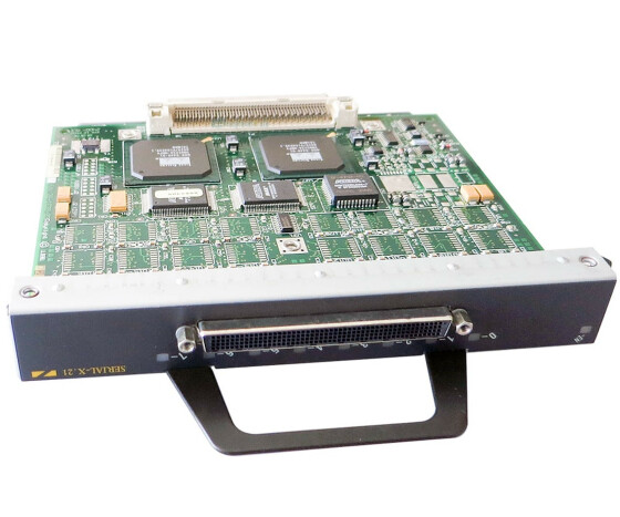 Cisco PA-8T-X21 - Synchronous Serial 8-Port Adapter - für Cisco 7200 VXR Series
