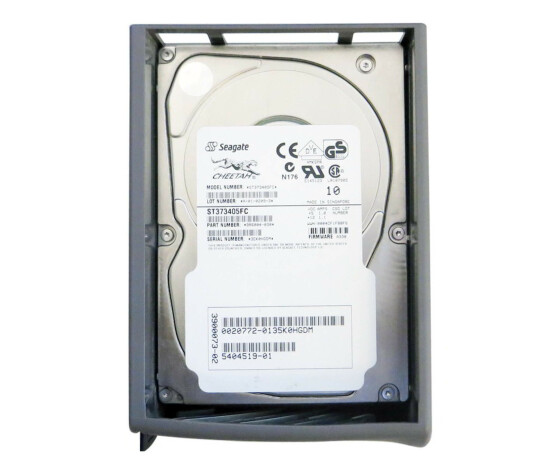 """Sun X6713A - Hard Drive - 73 GB - 10000 rpm - 3.5 """"- Fiber Channel - with Bracket for T3 Array"""