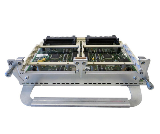 Cisco NM-2V - Voice/Fax Interface Network Modul - für Cisco 2600, 3600, 3700 Series
