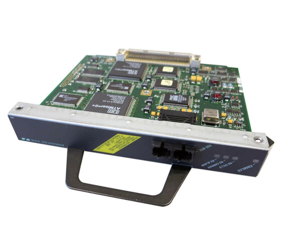 Cisco PA-A3-OC3MM - 1-Port ATM OC3c/ST-1 Multimode Adapter - für Cisco 7200 Series
